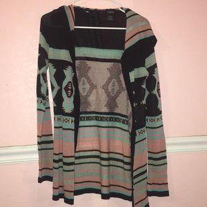 Rue 21 Tribal Cardigan
